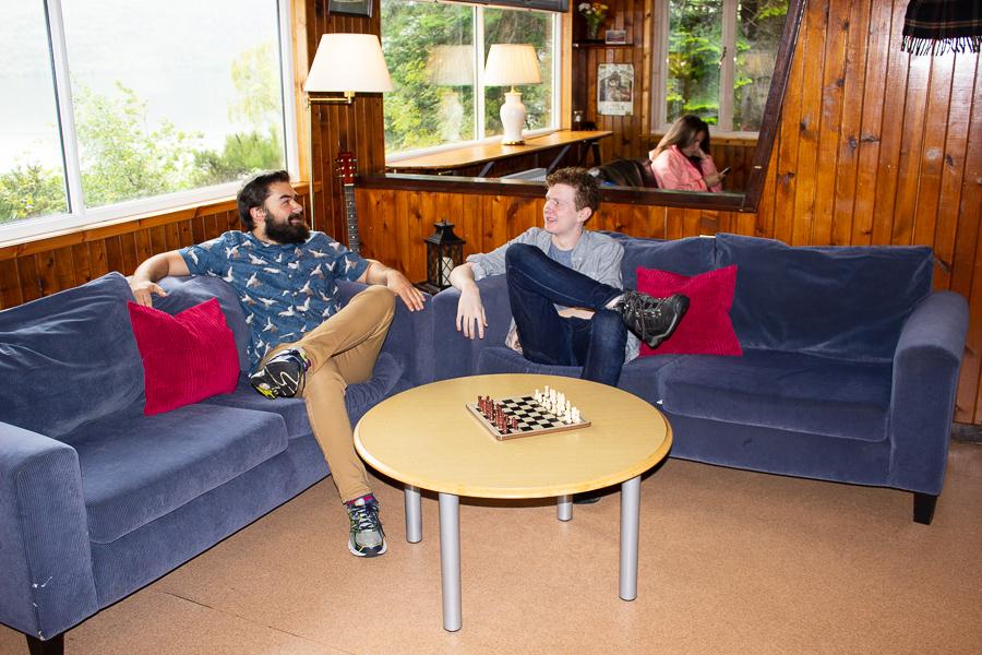 Lochside Hostel Lounge - Loch Ness