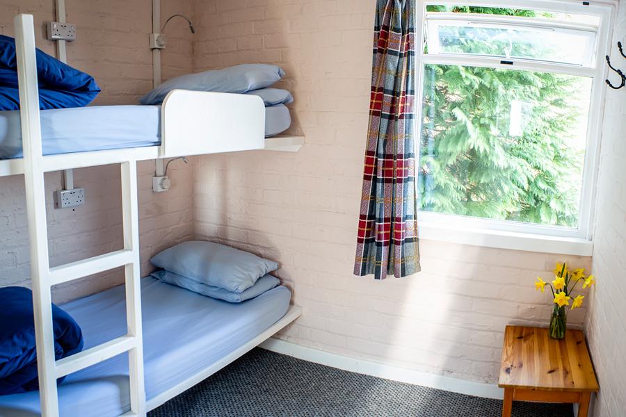 Bedroom at Lochside Hostel